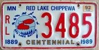 minnesota 1992 red lake chippewa centennial