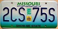 missouri 2009 show-me state