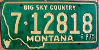 montana 1974 big sky country