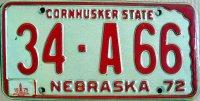 nebraska 1975 cornhusker state
