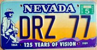 nevada 1992 125 years of vision