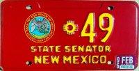 new mexico 1996 state senator