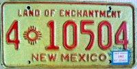 new mexico 1963