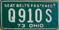 ohio 1973 seat belts fastened