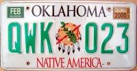 oklahoma 2000 native america