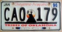 oklahoma 1998 cheyenne-arapaho