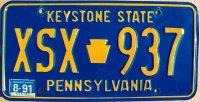 pennsylvania 1991 keystone state