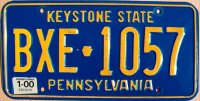 pennsylvania 2000 keystone state