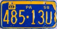 pennsylvania 1963
