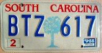 south carolina 1988