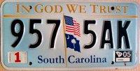 south carolina 2005 in god we trust