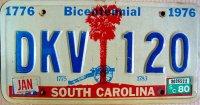 south carolina 1980 bicentennial