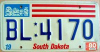 south dakota 1980