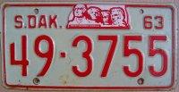 south dakota 1963