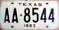 texas 1963