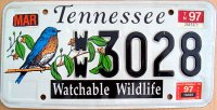 tennessee 1997 watchable wildlife