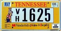 tennessee 2008 vanderbilt children`s hospital