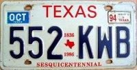 texas 1994 sesquicentennial