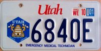 utah 2001 emergency medical technician