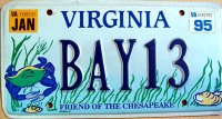 virginia 1995 friend of the chesapeake