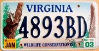virginia 2003 wildlife conservationist