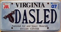 virginia 2007 national air and space museum