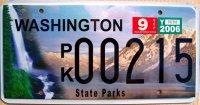 washington 2006 state parks