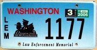 washington 2006 law enforcement memorial