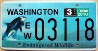 washington 2010 endangered wildlife