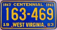 west virginia 1963 centennial