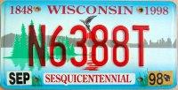 wisconsin 1998 sesquicentennial