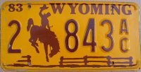 wyoming 1983