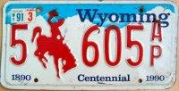 wyoming 1991 centennial