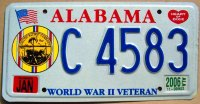 alabama 2006 world war II veteran