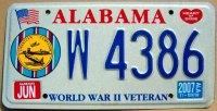 alabama 2007 world war II veteran