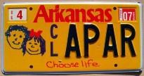arkansas 2007 choose life