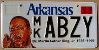 arkansas 2016 Dr. Martin Luther king Jr