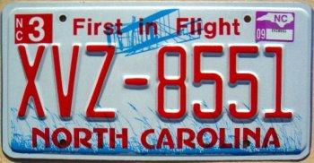 north carolina 2009