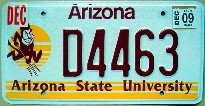 arizona 2009 arizona state university