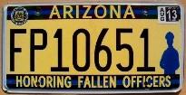 arizona 2013 honoring fallen officers