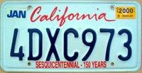 california 2000 150 ans