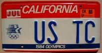 california 1986 olympics 1984