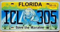 florida 2011 save the manatee