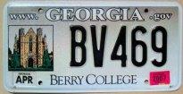 georgia 2007 Berry College