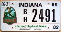 indiana 2009 lincoln`s boyhood home