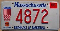 massachusetts 2003 hall of fame