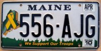 maine 2010 we support our troops