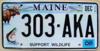 maine 2008 support wildlife