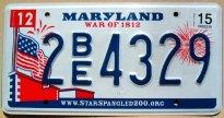 maryland 2015 war of 1812