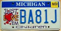 michigan 2006 children